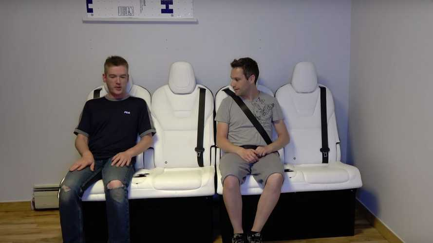 Why Use Tesla Model X Seats As A Couch? Well... Why Not?