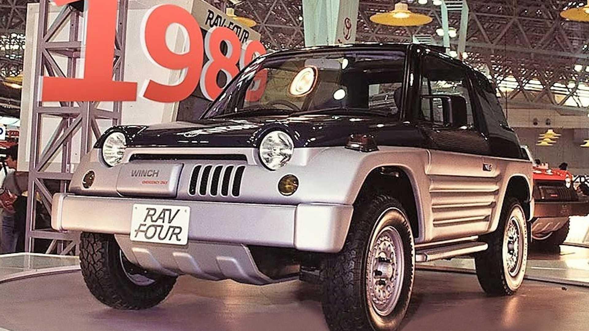 Toyota RAV4 1989 года: концепция, которую мы забыли