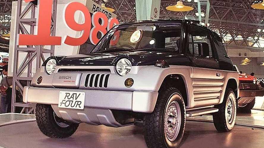 Vergessene Studien: Toyota RAV Four (1989)