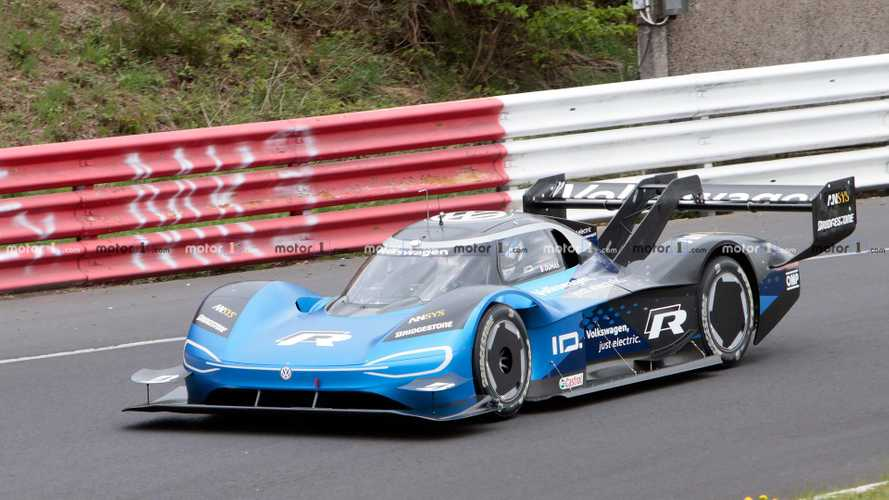 Volkswagen I.D. R Spied Prepping For Nürburgring Record Run