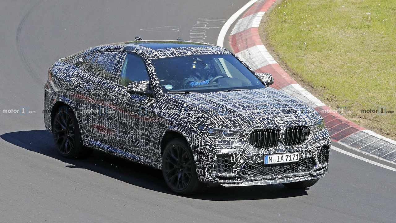 New BMW X6 M spy photo