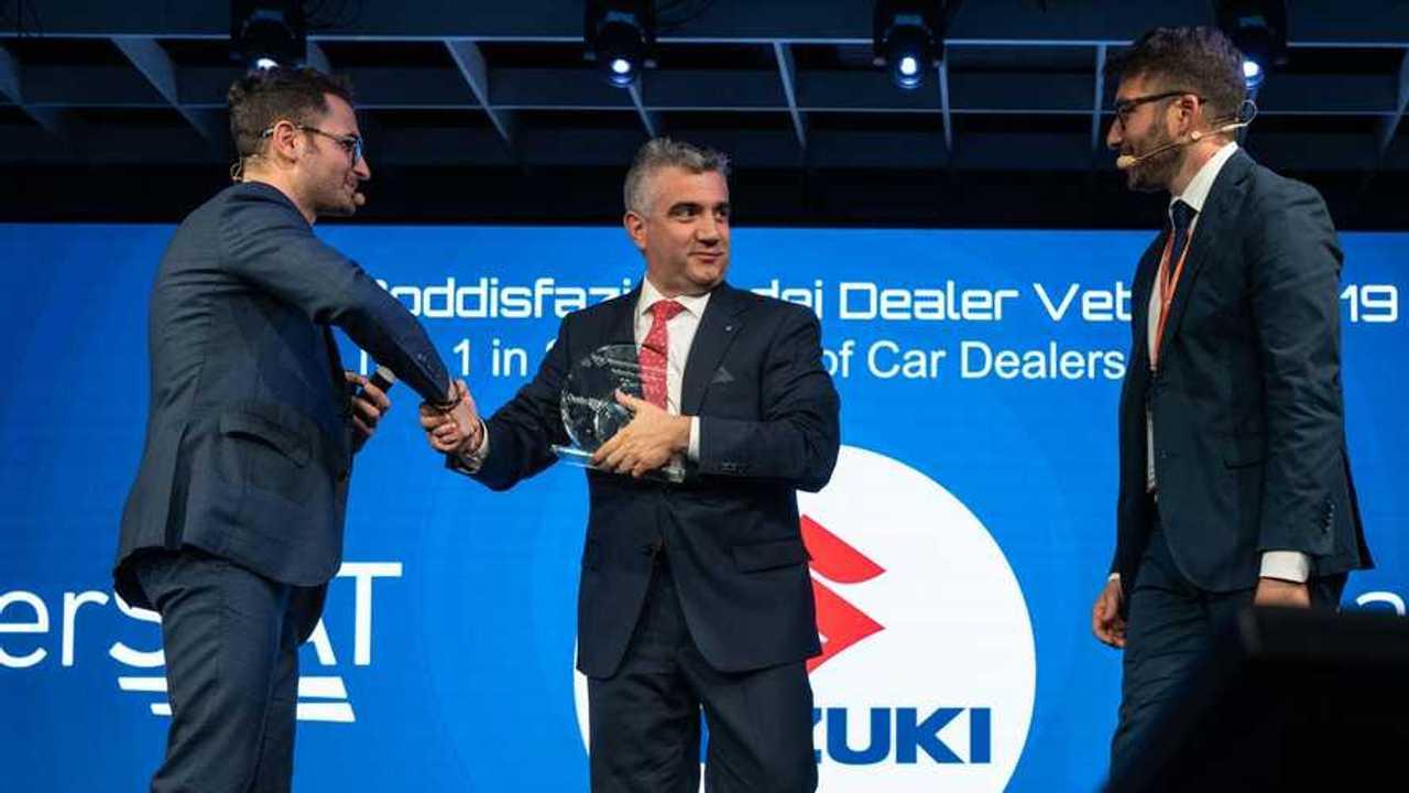 Suzuki premiata all'Automotive Dealer Day