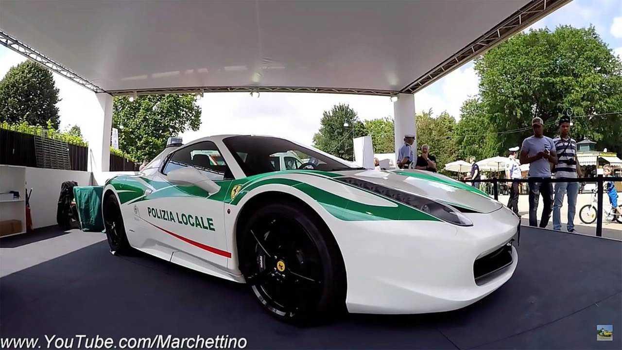 Ferrari 458 Spider – Polícia da Itália