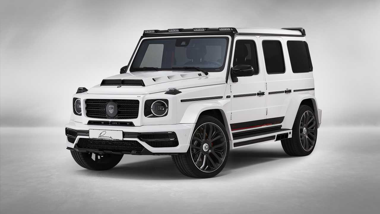 Mercedes-AMG G63 by Lumma Design