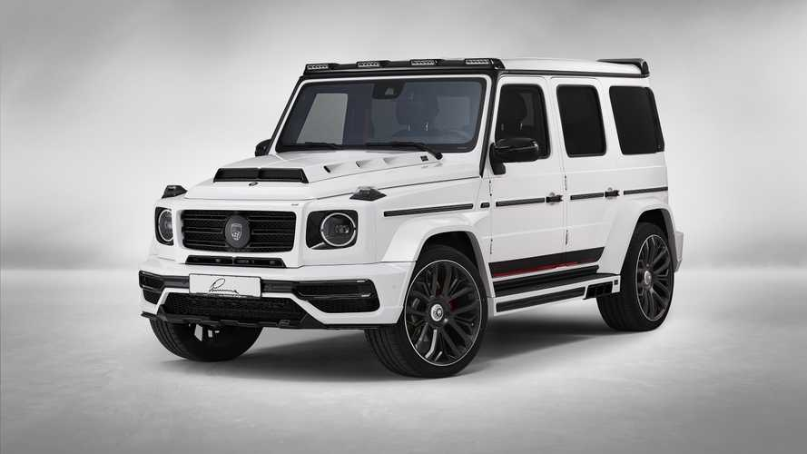 Mercedes-AMG G63 Gets Six Exhausts From Lumma Design