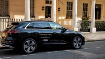 Audi e-tron in Addison Lee Group fleet