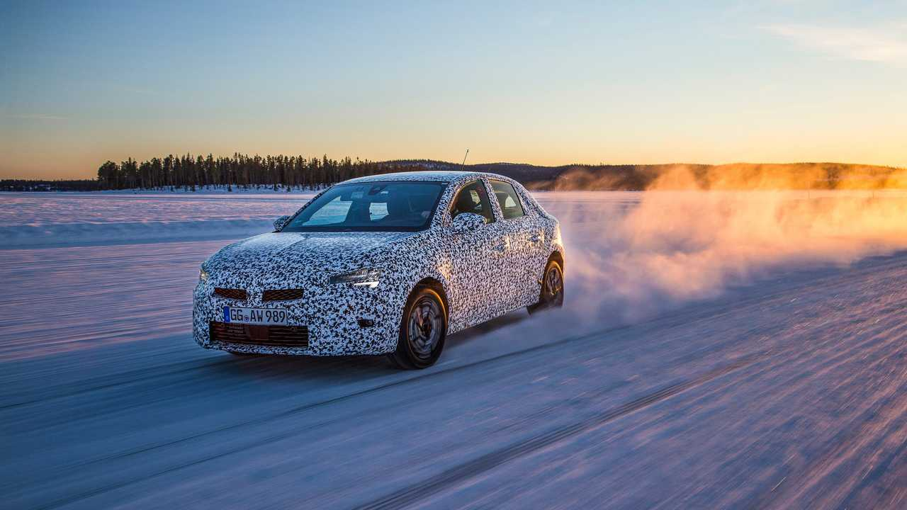 Opel Corsa 2019 foto spia
