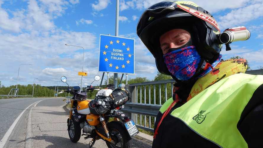 Honda Monkey 125: da Reggio Calabria a Roma... Passando per Capo Nord