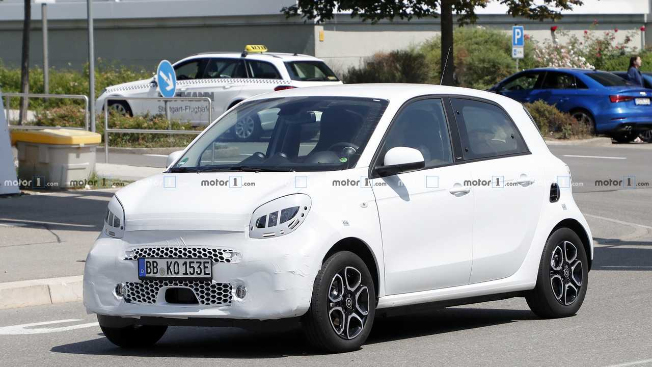 smart ForFour EQ restyling, le spy photo