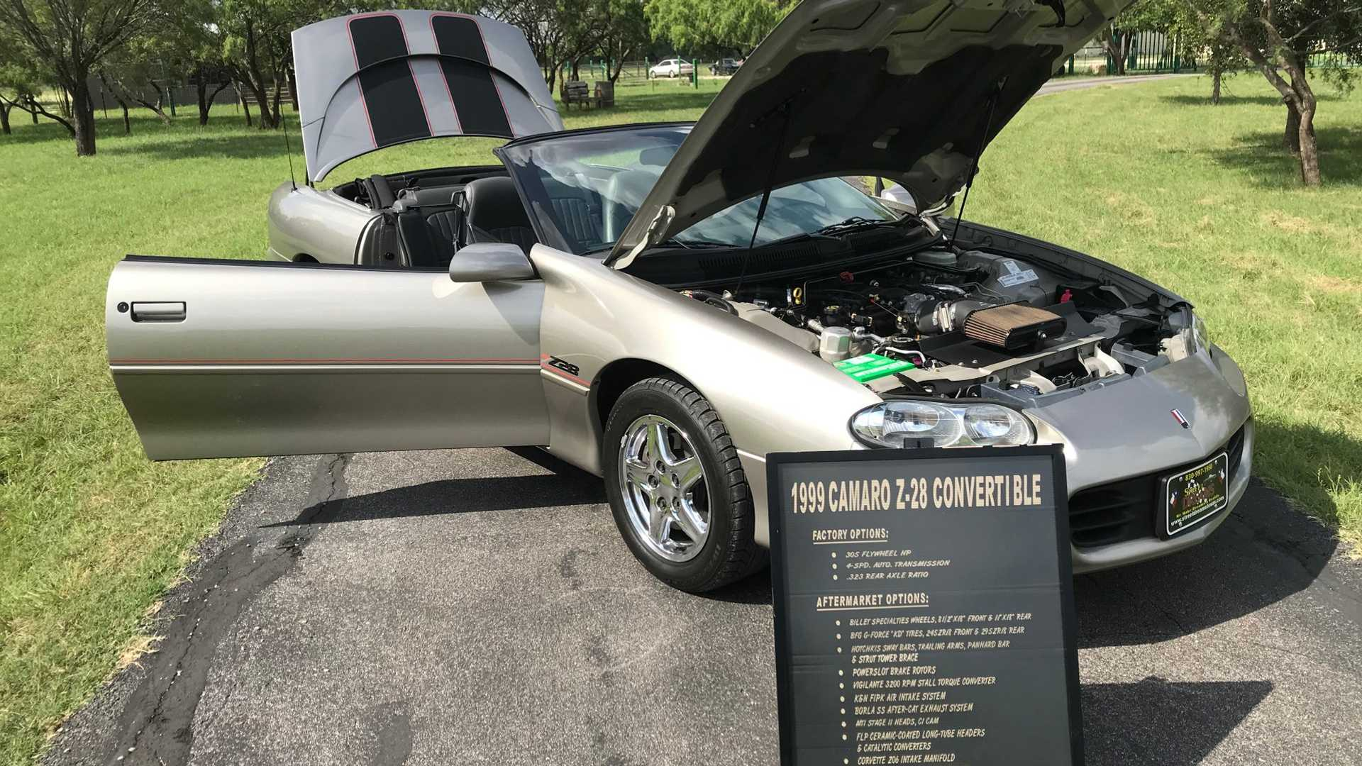 1999 Camaro Z28: A Show Car With High-Performance Upgrades