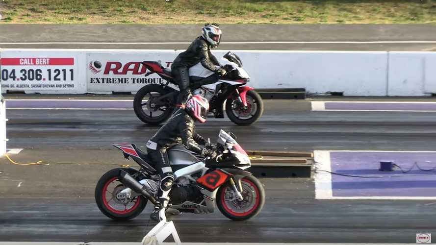 Aprilia RSV4 Vs Yamaha R1 Drag Race: Who Will Win?