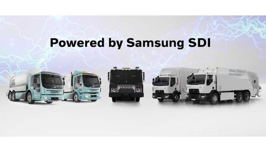 Volvo Trucks To Use Samsung SDI Batteries & Pack Tech