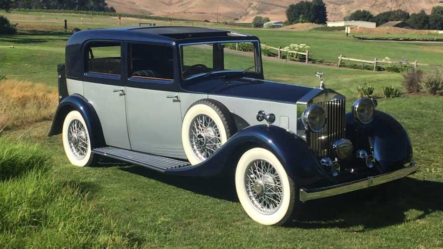 Elegant Rolls-Royce 20/25 Has Real Class