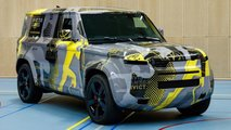 Land Rover Defender For The Fifth Invictus Games