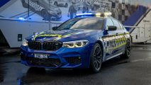 bmw m5 competition police car