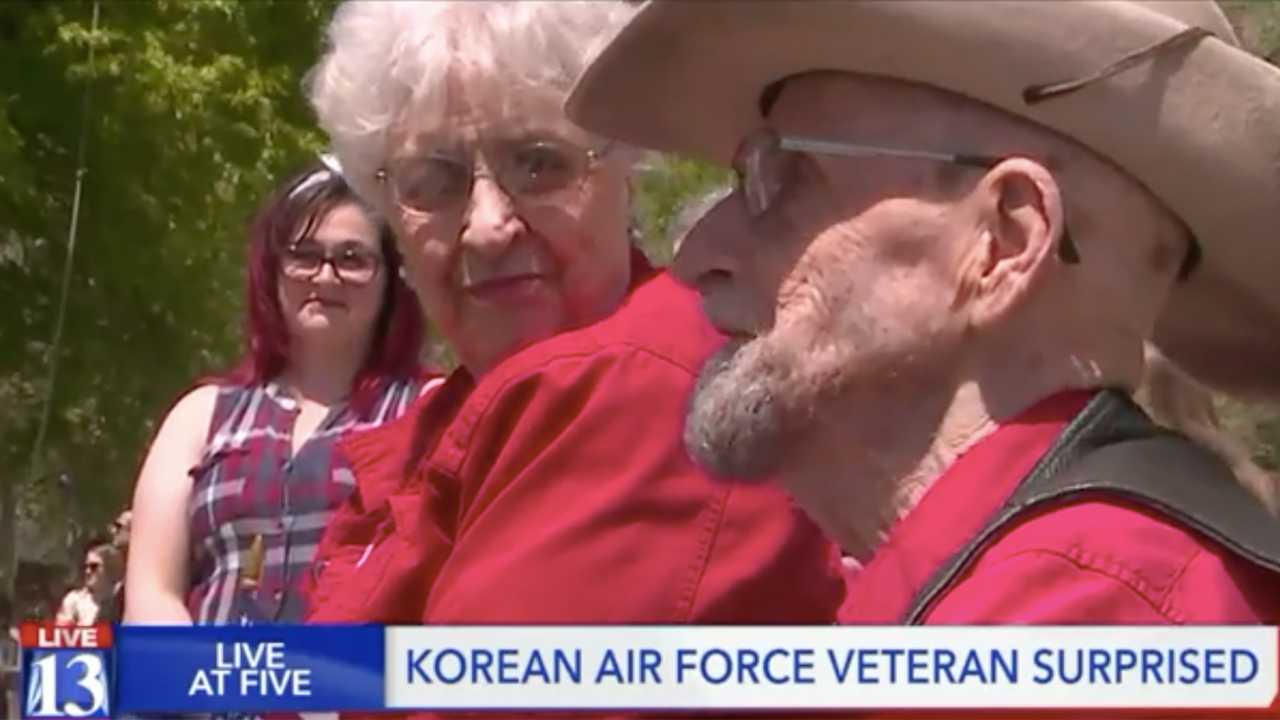 Group of 100 riders visit ill veteran for a ride