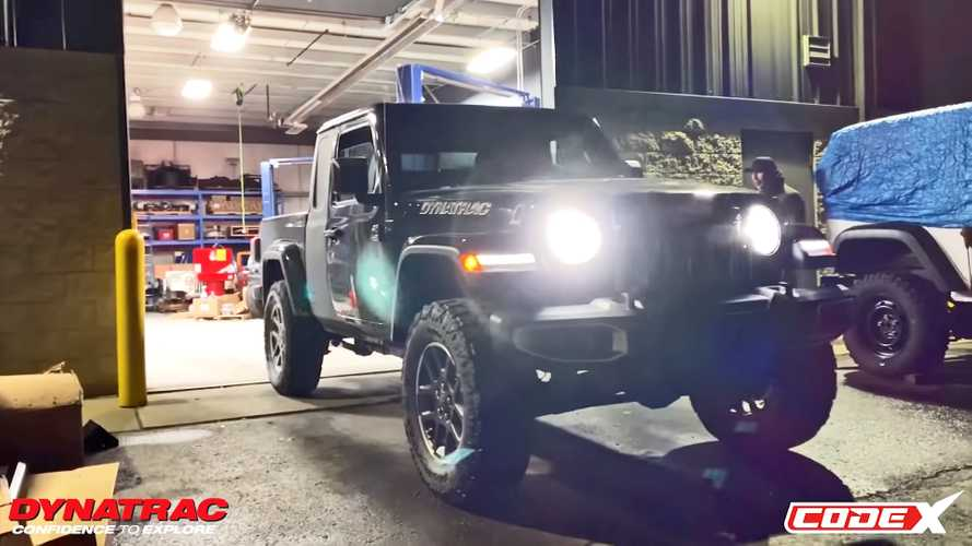 Bonkers Jeep Gladiator Hellcat Two-Door Build Is Off To A Good Start