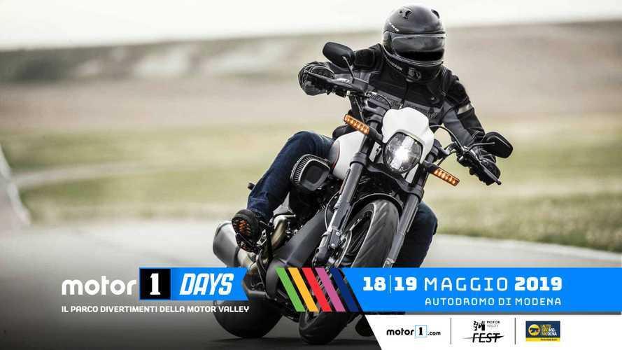 Harley-Davidson al Motor1Days con la gamma 2019