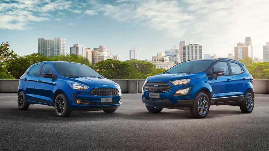 Ford Ka e EcoSport ganham série especial 100 Anos no Brasil