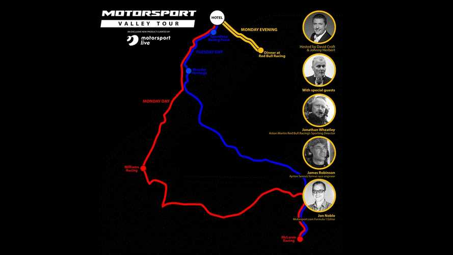 Motorsport Live Launches The Motorsport Valley Tour
