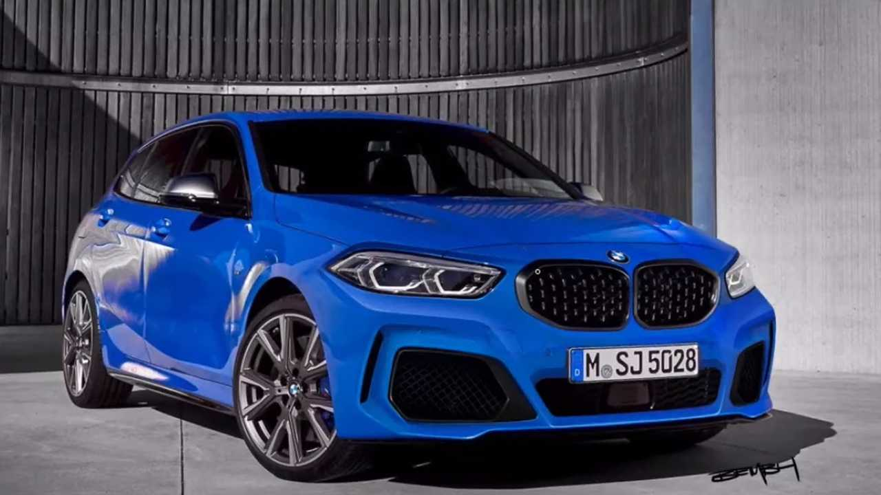 2020 bmw 1 series m135i photoshop redesign dials down the