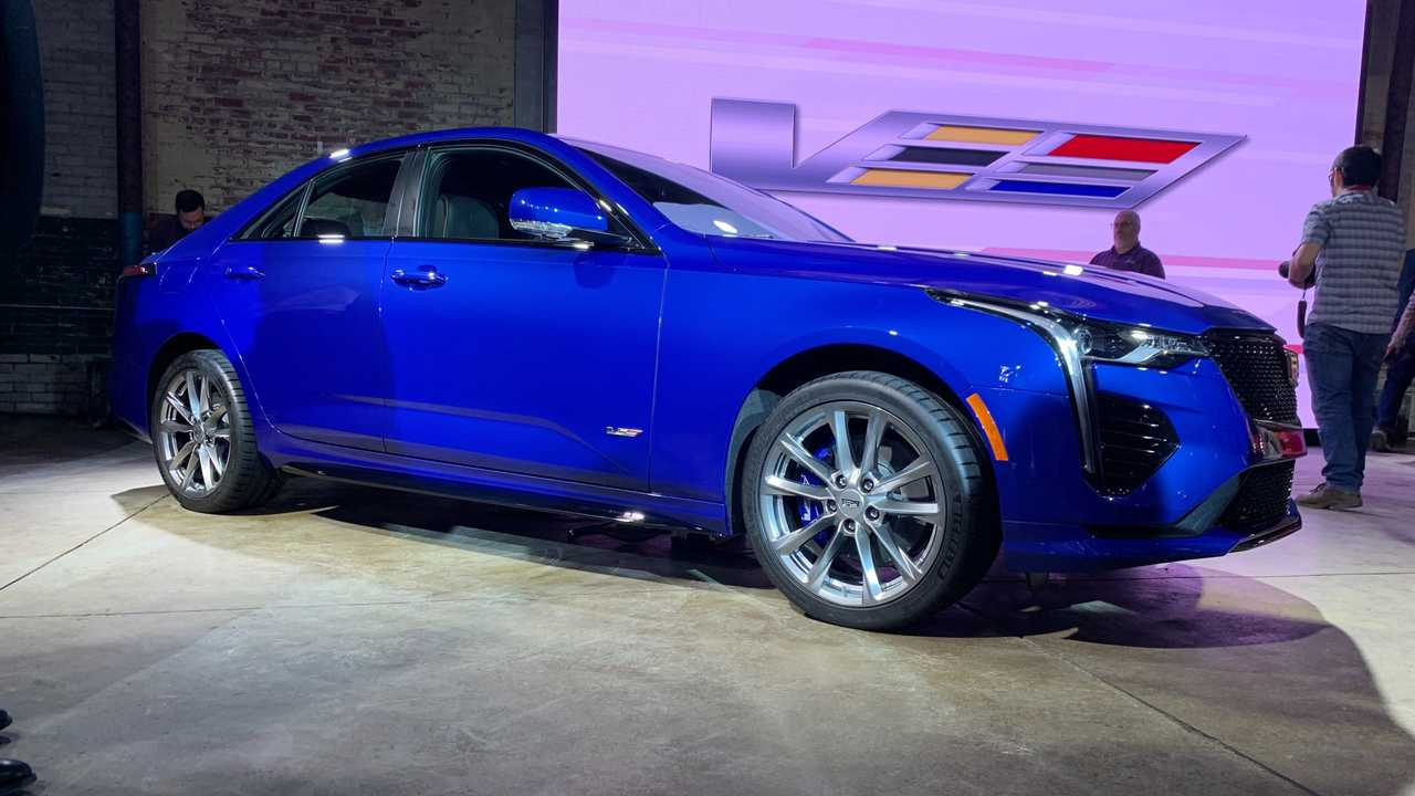 Most Expensive 2020 Cadillac CT4-V Costs $58,725 - Motor1