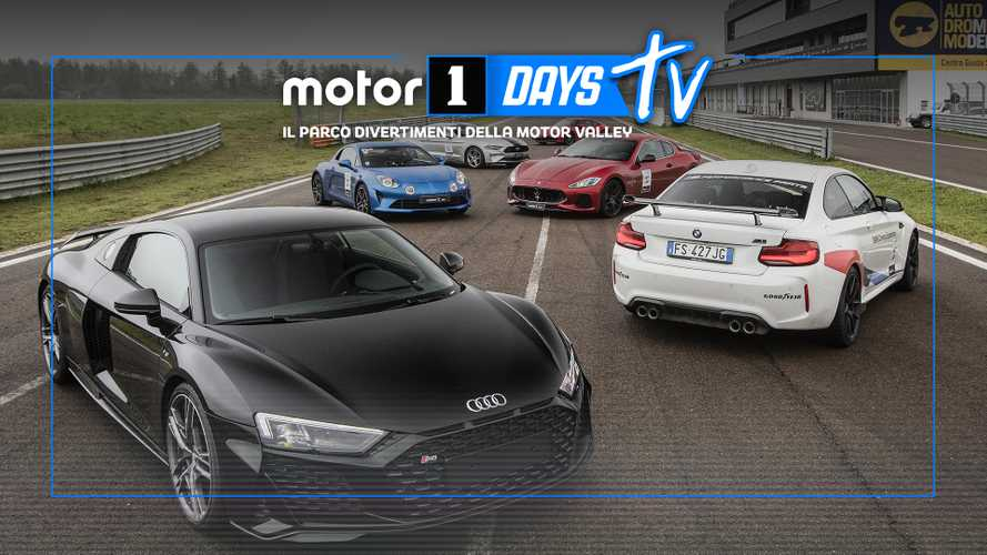 Motor1Days 2019, un'emozione chiamata hot lap, in video