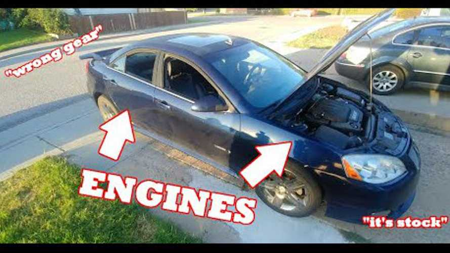 Dual-Engine Pontiac G6 Is Backyard Engineering At Its Best