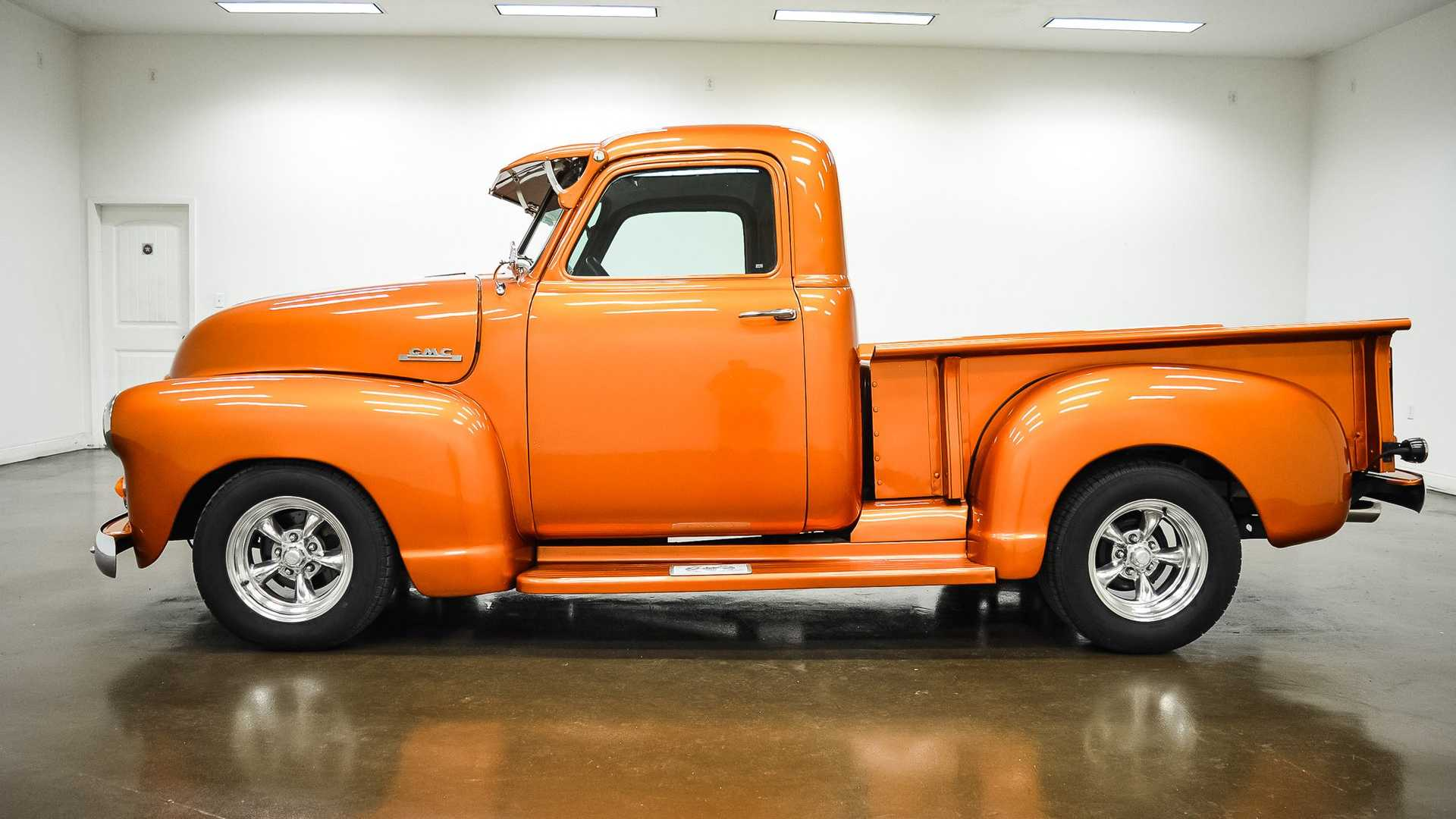 "[""Orange You Wishing This Custom 1949 GMC Truck Was Yours""]"