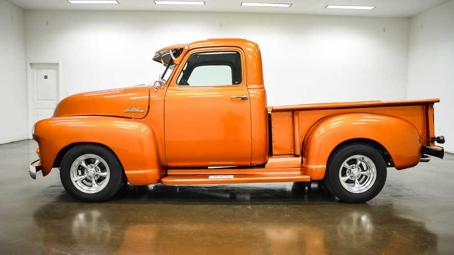 Orange You Wishing This Custom 1949 GMC Truck Was Yours?