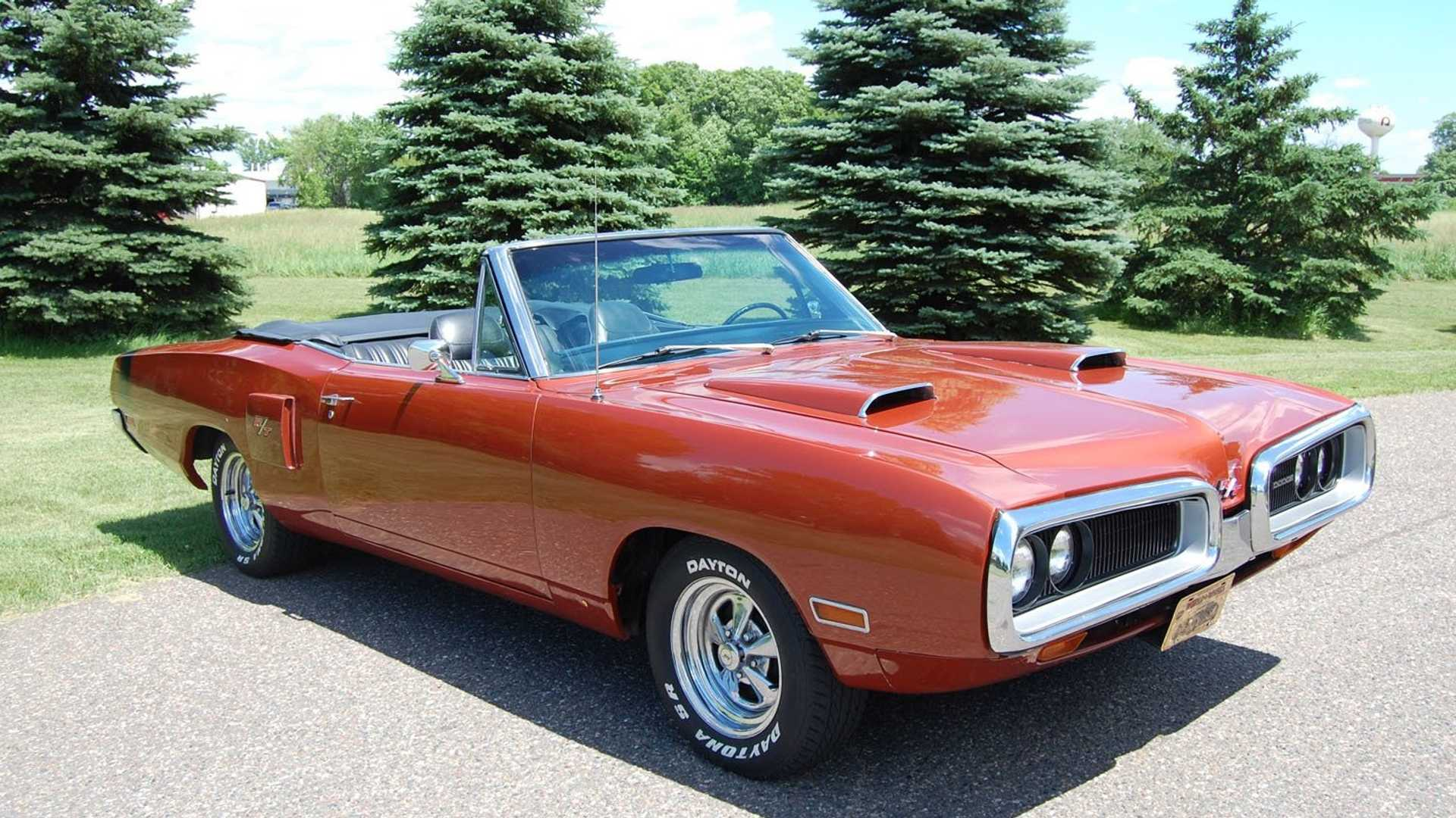 1970 Dodge Coronet Convertible Is A High Performance R T Tribute