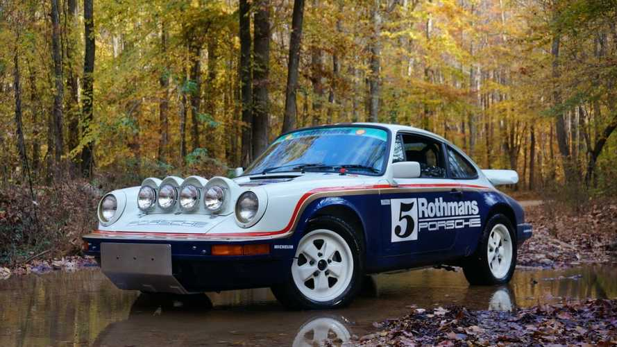Rothmans replica 1983 porsche 911 sc safari