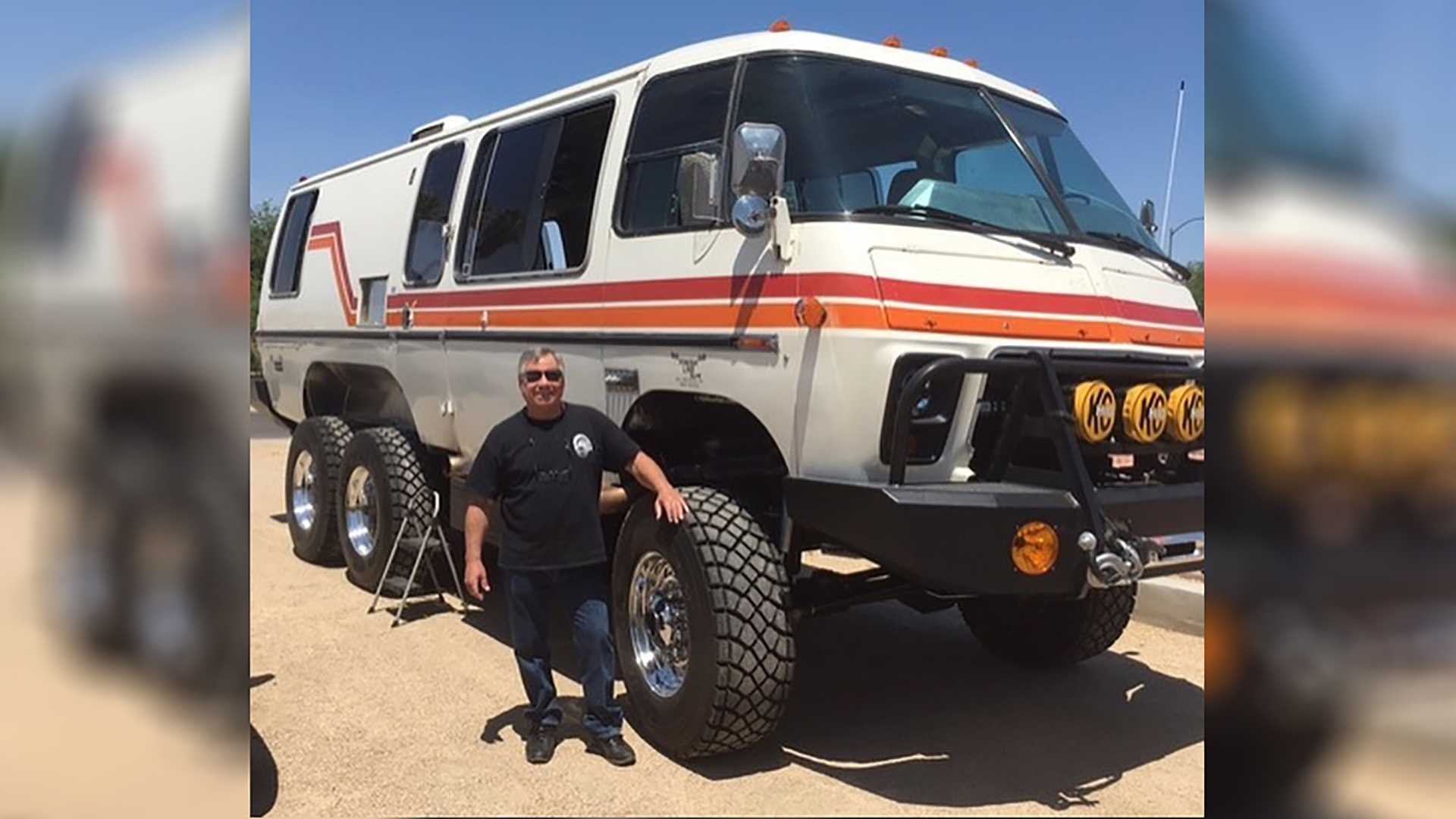 This Crazy Custom GMC Motorhome 6x6 Is Far From Finished