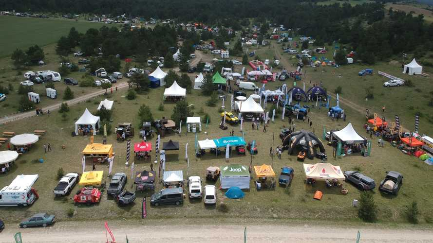 Binlerce kampçı 4x4 Dünyası Off-Road Fest'te buluştu