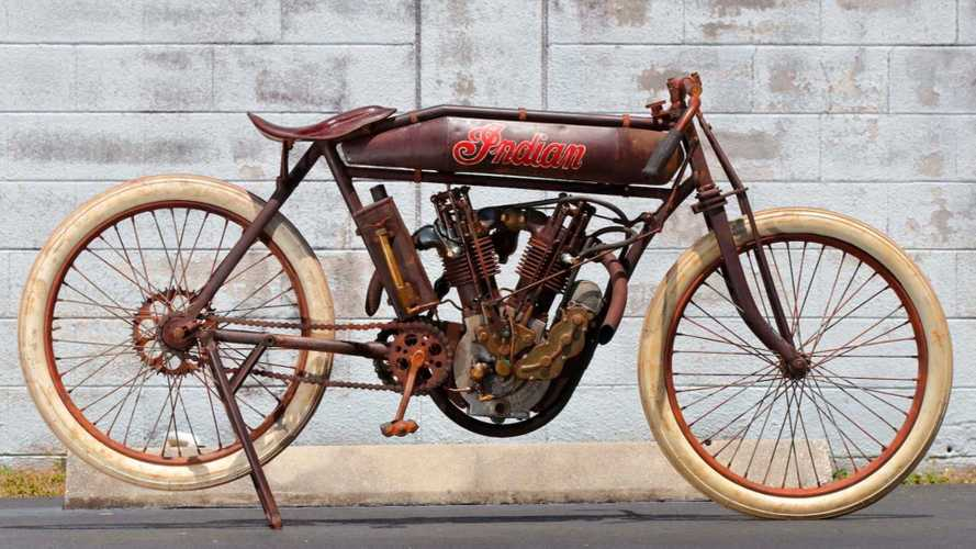 This Original 1914 Indian Board Tracker To Hit The Auction Block