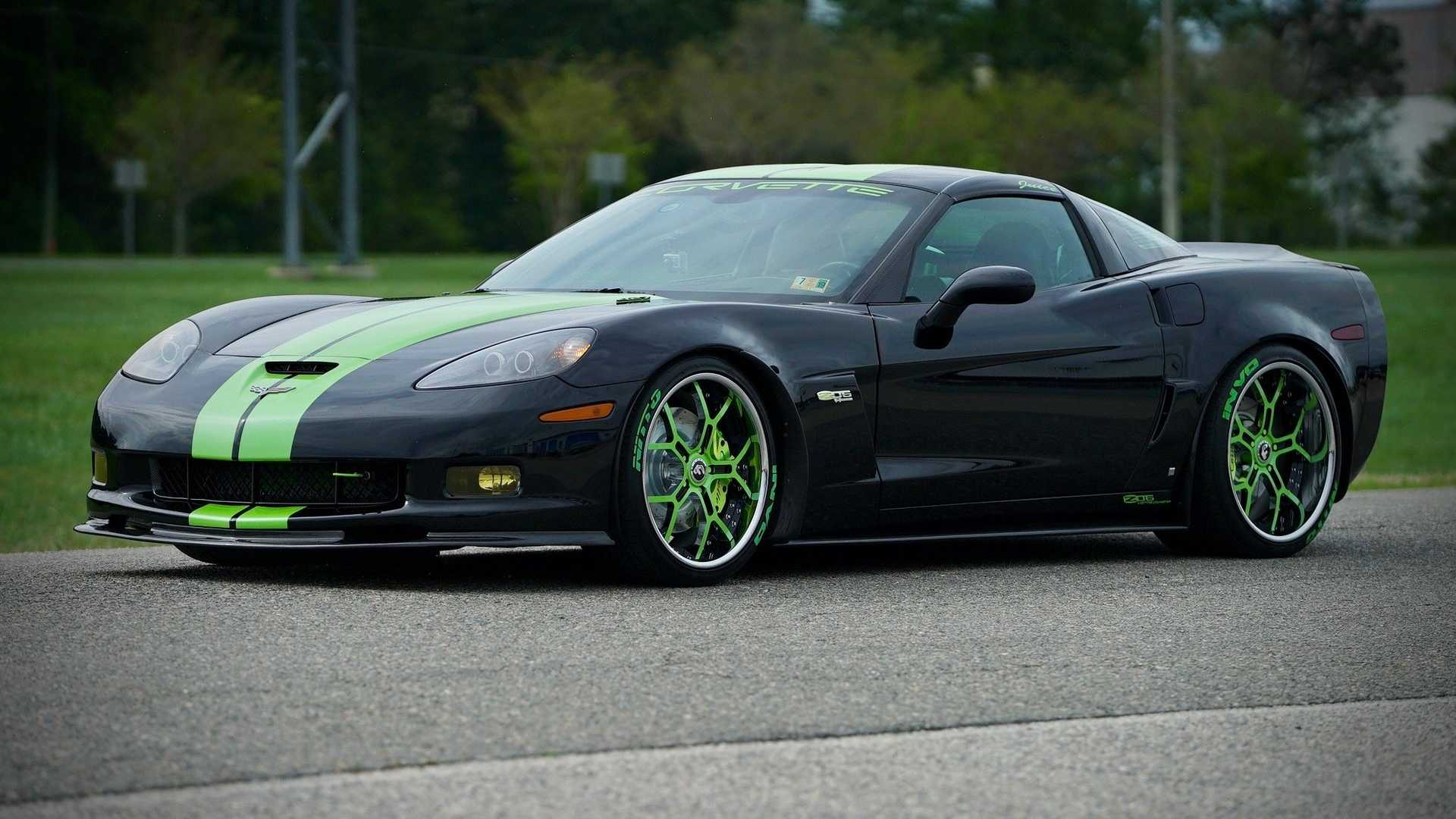 """[""""Blown 2007 Corvette Z06 Gets Up To Speed With 900HP""""]"""