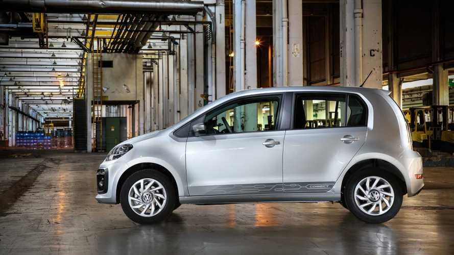 Volkswagen Up! passa a ser homologado com quatro lugares