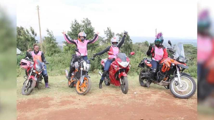 Kenya's Female Motorcycle Clubs