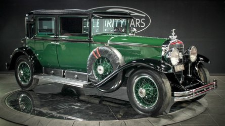 This 1928 cadillac was once owned by al capone