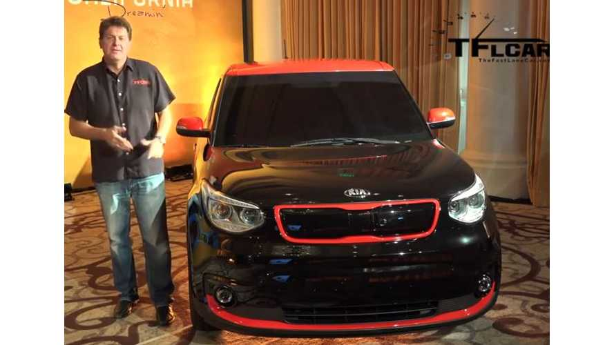 "The Fast Lane Car Presents ""More Than Everything"" On 2015 Kia Soul EV - Video"
