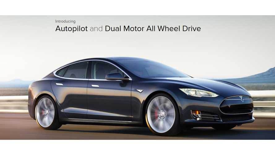 Official Tesla Motors Video - Model S P85D Reveal And Autopilot
