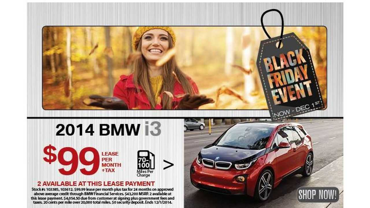 BMW i3 Lease Deal