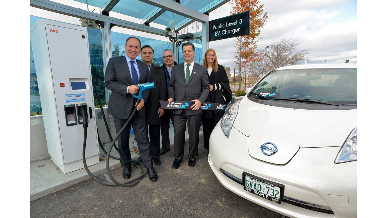 PowerStream Launches DC Fast Charger In Greater Toronto Area