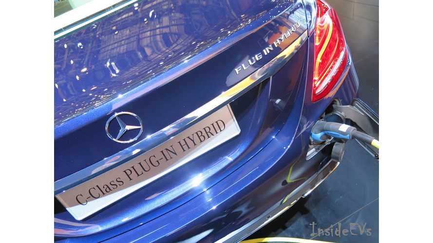 Mercedes-Benz Head Of Development: Automaker Will Launch 10 New PHEVs By 2017