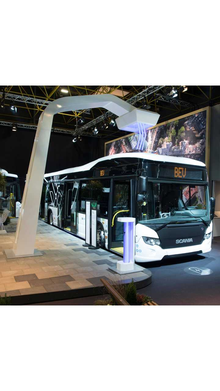 Scania Citywide LF fully electric