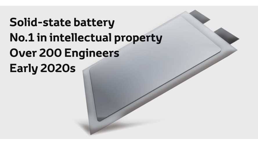 Toyota solid-state battery