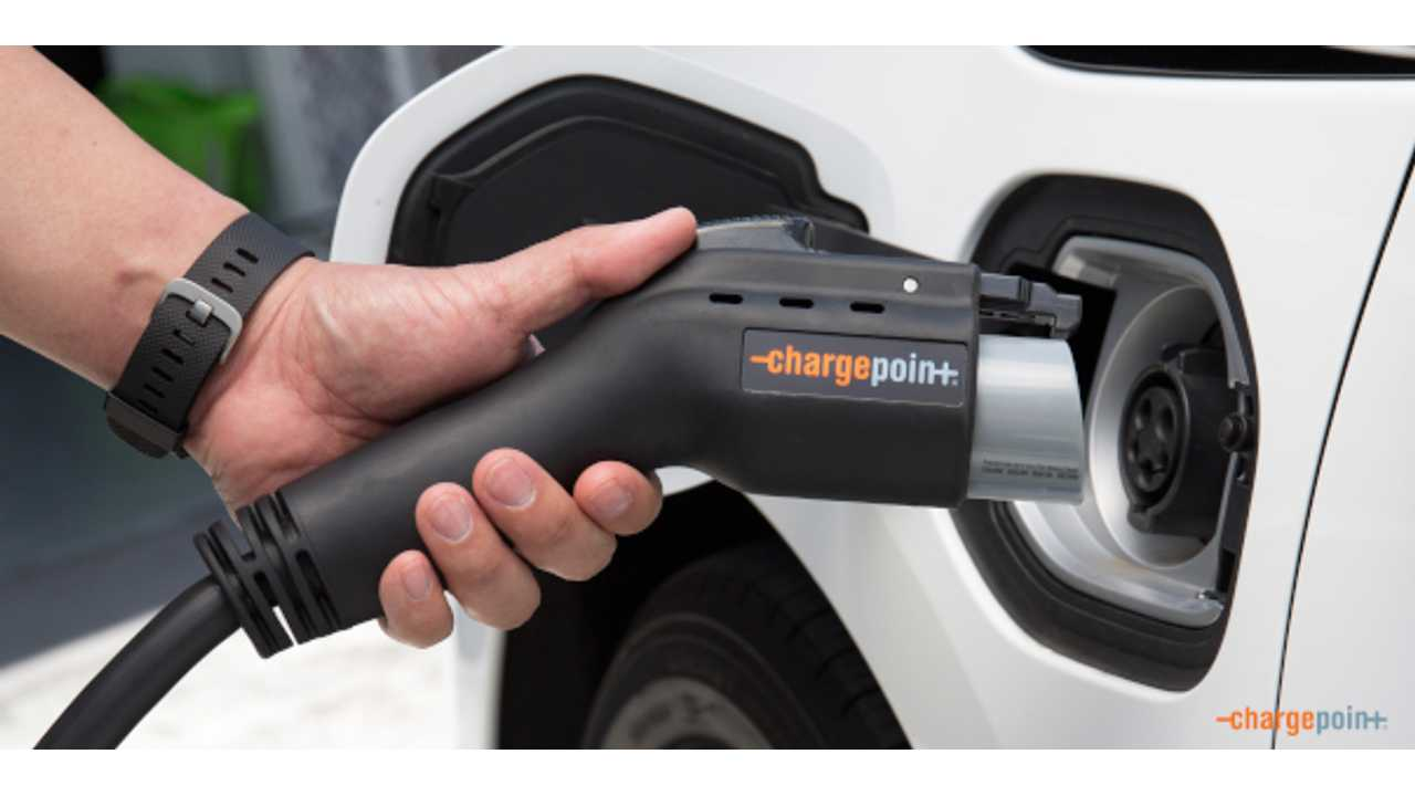 ChargePoint Stations Deliver Juice To EVs Over 1 Million Times Per Month