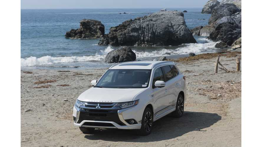 Mitsubishi Outlander PHEV Sales Surpass 100,000 In Europe