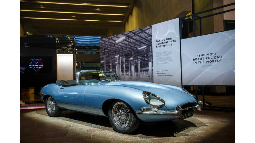 "All-Electric ""Classic"" Jaguar E-Type Zero Review - Video"