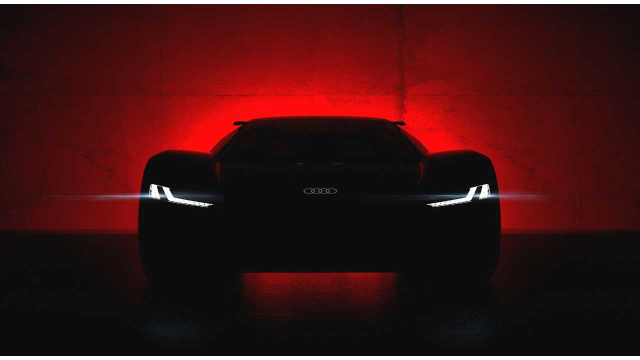 Audi Teases PB18 e-tron Electric Supercar